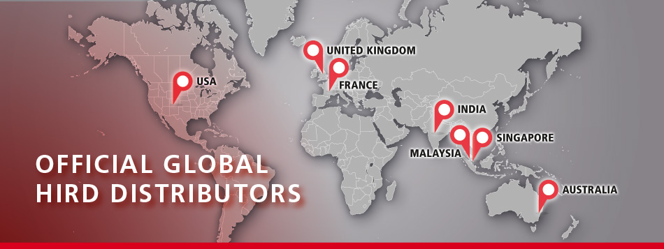 Official Global HIRD Distributors